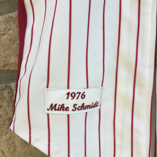 vintage mike schmidt 1976 mitchell and ness jersey
