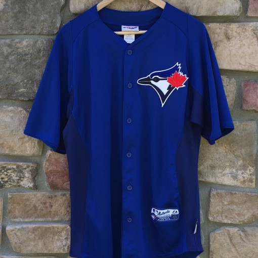 toronto Blue jays Majestic cool base mlb jersey medium