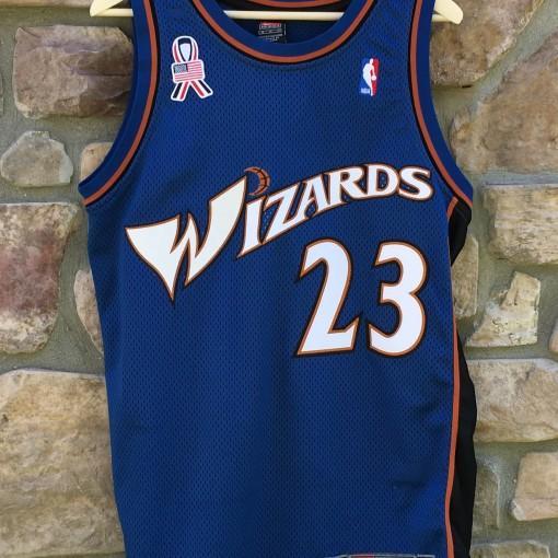 2001 authentic Michael Jordan Washington wizards nike NBA jersey size 40