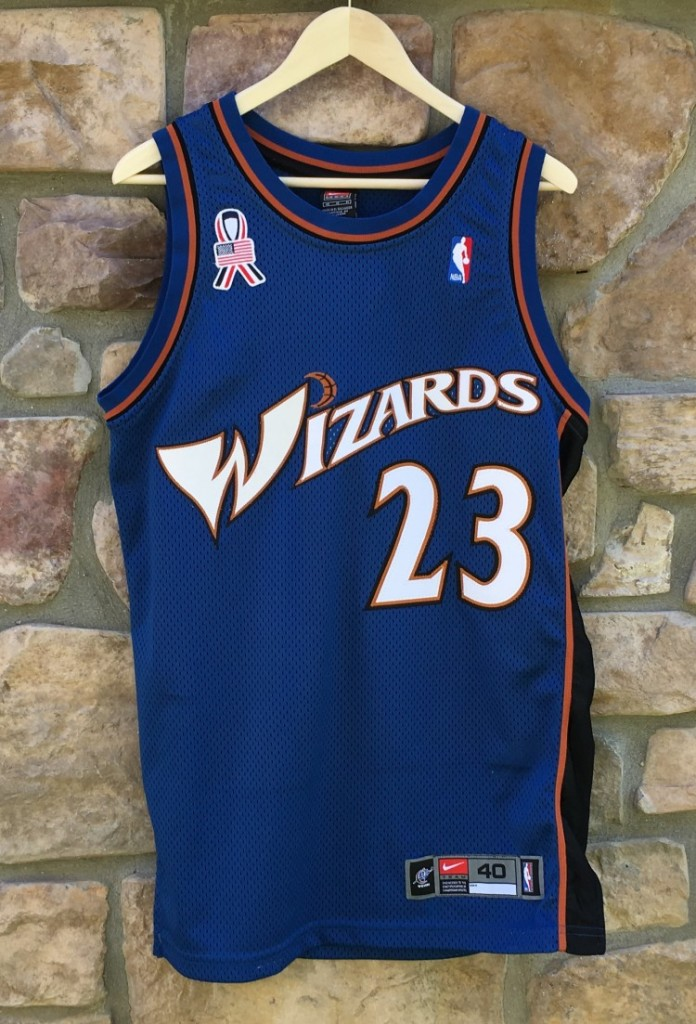 new product f9236 cff3e 2001 Michael Jordan Washington Wizards Nike Authentic NBA Jersey Size 40