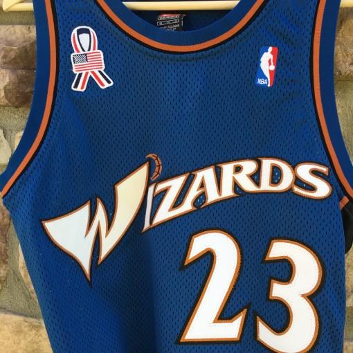 2001 washington wizards authentic michael jordan jersey