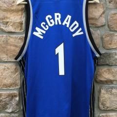 vintage tracy t mac mcgrady orlando magic champion nba jersey size 44