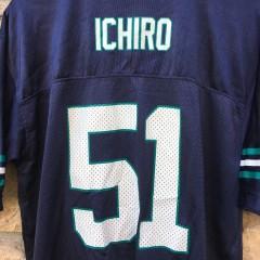 Ichiro Seattle Mariners Football jersey