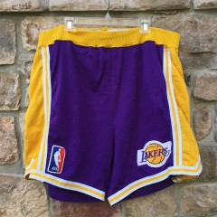 94-95 Game worn los angeles lakers Champion shorts