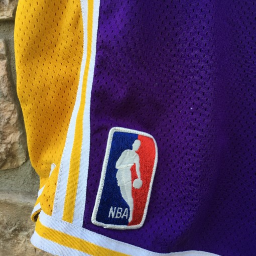 Vintage los angeles lakers purple shorts