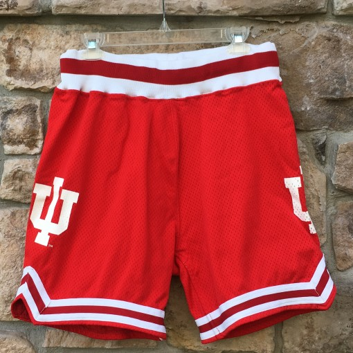 vintage 90's University of Indiana Hoosiers delong authentic NCAA shorts