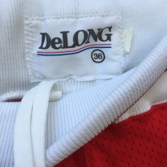 vintage delong ncaa shorts 90's
