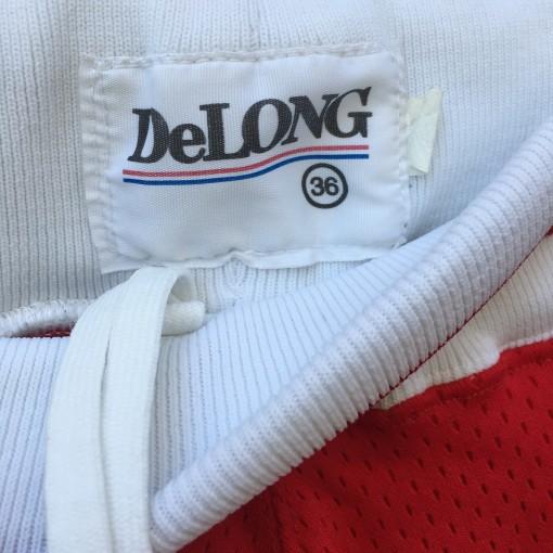 vintage delong ncaa shorts 90's