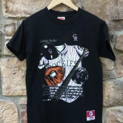 vintage 90's Colorado Rockies Mlb t shirt size small medium