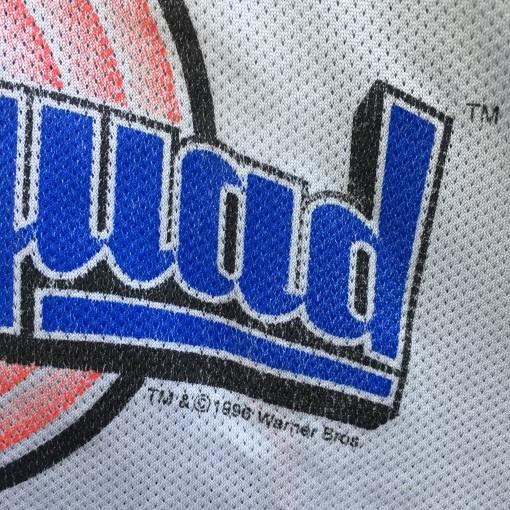 vintage authentic 1996 tune squad champion space jam jersey