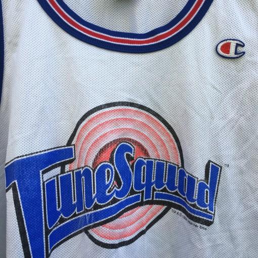 vintage tune squad authentic champion 90's jersey