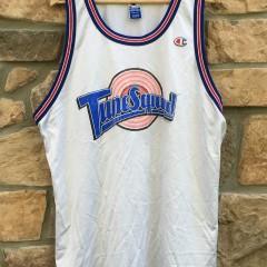 vintage champion 1996 Tune Squad michael jordan space jam jersey size xxl