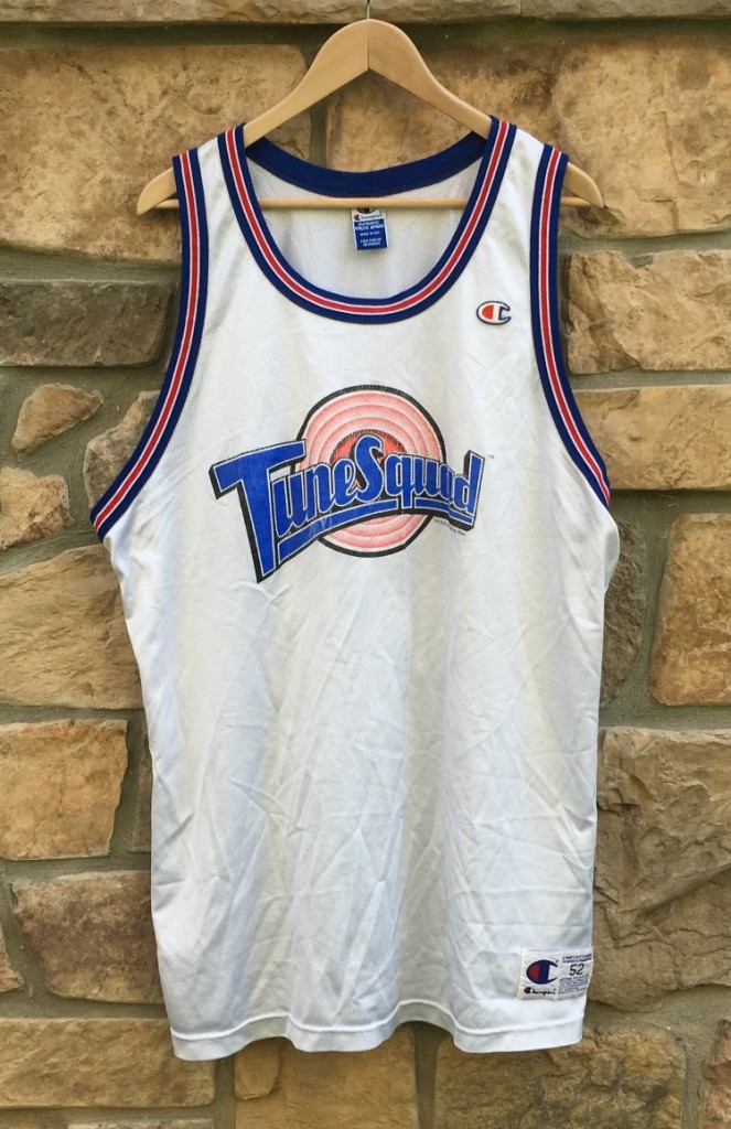 sports shoes e1e49 acdc9 1996 Michael Jordan Tune Squad Space Jam Champion Jersey Size 52