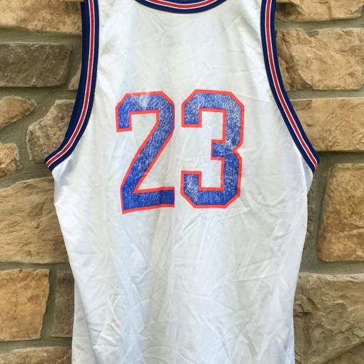 vintage michael jordan #23 tune squad space jam jersey size 52 xxl