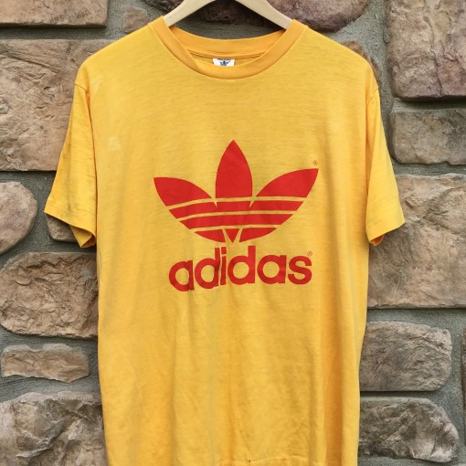 vintage 80's Adidas T shirt