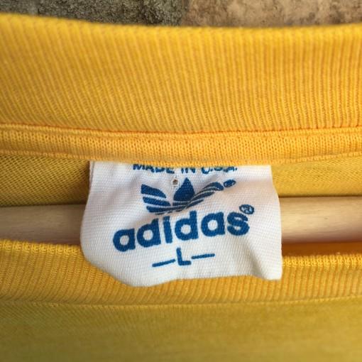 vintage 80's Adidas t shirt size large