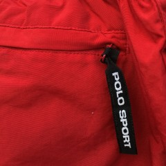 vintage 90's polo sport track pants