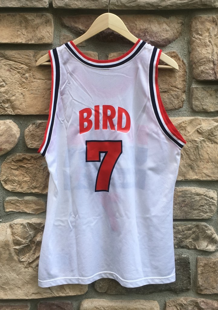 vintage Larry Bird Champion Team USA 90 s dream team jersey. size 44 ... fd791a3dd