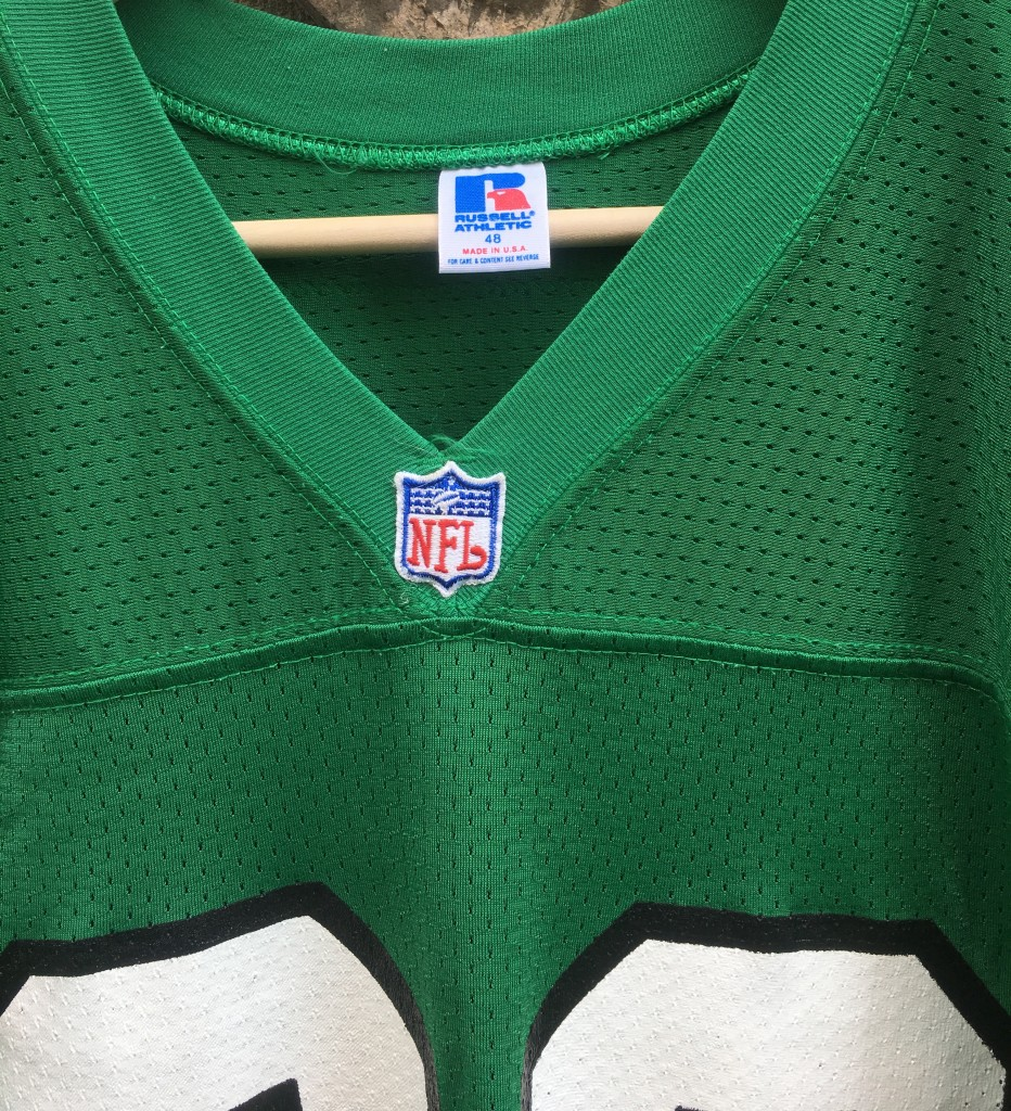 c602bed3b9f authentic kelly green russell reggie white philly eagles jersey size 48 XL