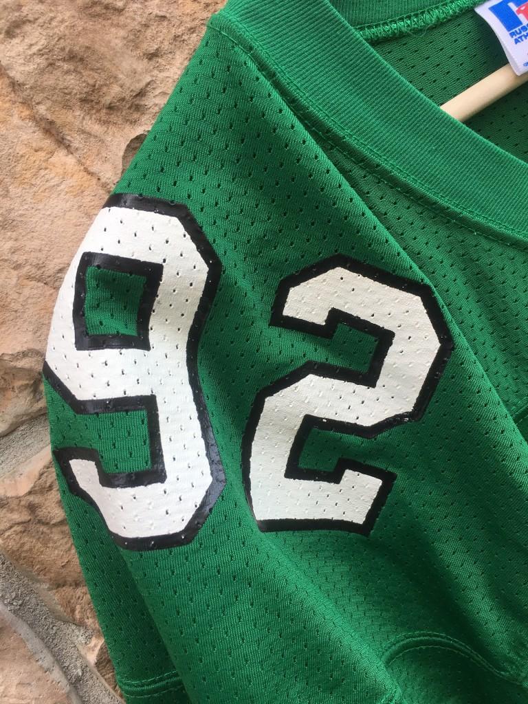 designer fashion 22610 8d389 1992 Reggie White Philadelphia Eagles Authentic Russell NFL Jersey Size 48