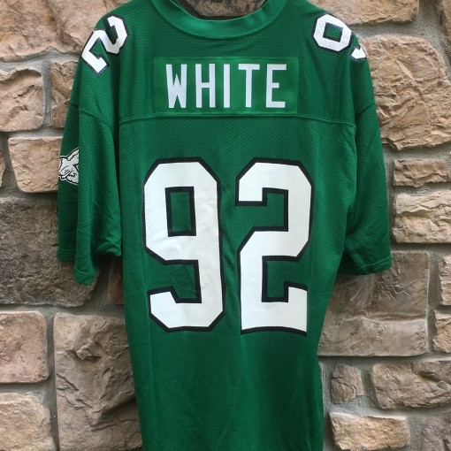 vintage Reggie white Philadelphia Eagles Kelly Green jersey