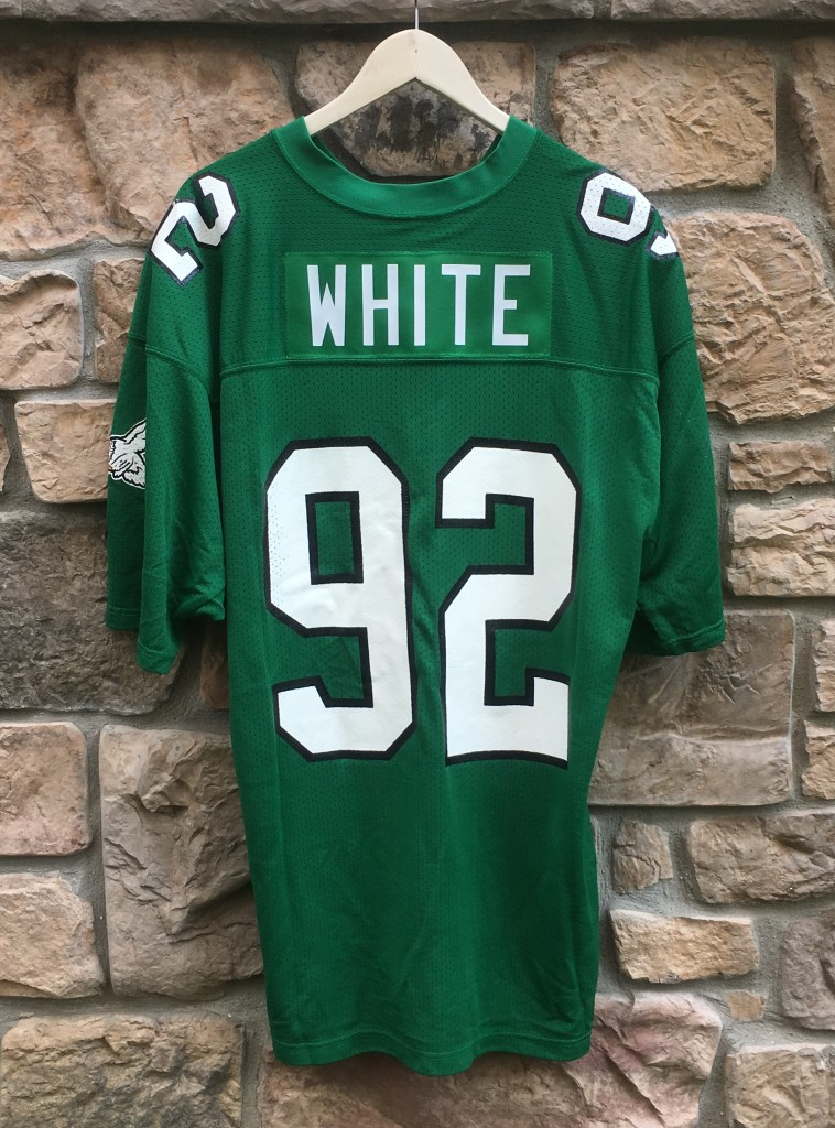 1992 Reggie White Philadelphia Eagles Authentic Russell NFL Jersey ... 6c560c05c