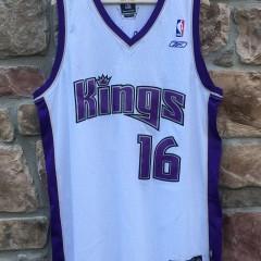 vintage Sacramento kings peja stojakovic reebok swingman nba jersey size xl