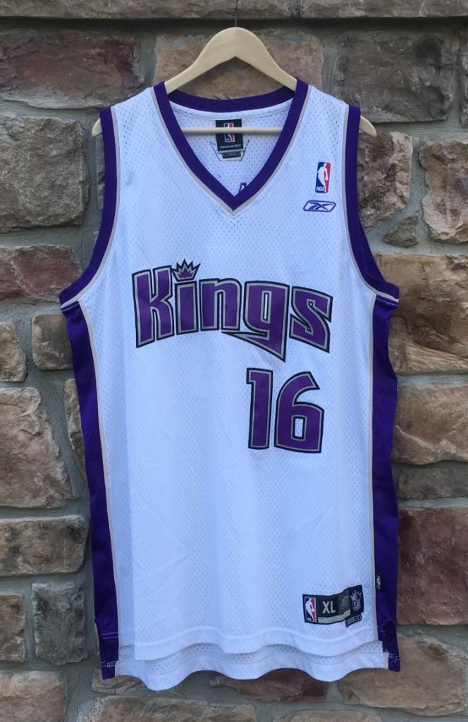 vintage Sacramento kings peja stojakovic reebok swingman nba jersey size xl 39612cfec
