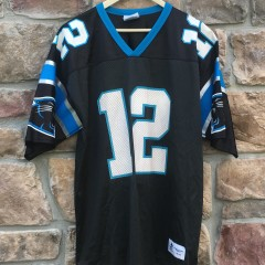 90's kerry collins carolina panthers logo athletic nfl jersey