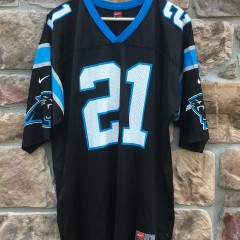 tim Biakabutuka Carolina Panthers NFL jersey size large