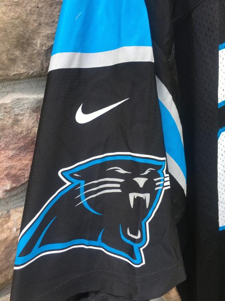 Hot 1999 Tim Biakabutuka Carolina Panthers Nike NFL Jersey Size Large  for cheap
