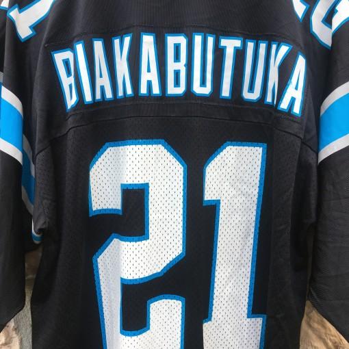 Vintage 90's Tim Biakabutuka Carolina panthers NFL jersey