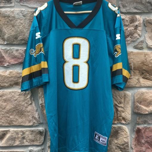 vintage 90's Mark Brunell Jacksonville Jaguars starter NFL jersey size large