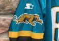 vintage brunell jacksonville jagurs jersey