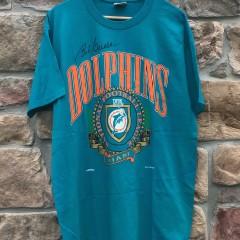 vintage 90's Miami Dolphins nutmeg nfl t shirt