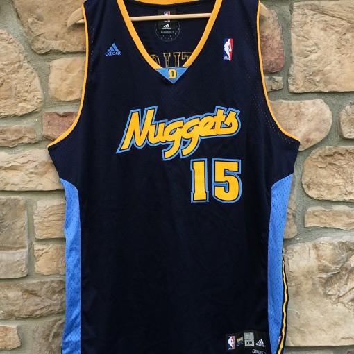 Nuggets Starting Lineup: 2005 Carmelo Anthony Denver Nuggets Adidas Swingman NBA