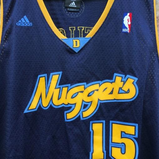 denver nuggets alternate navy blue Melo swingman jersey