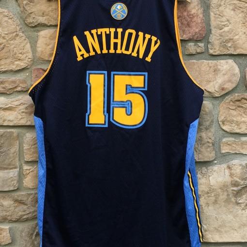 vintage Carmelo Anthony Denver Nuggets jersey