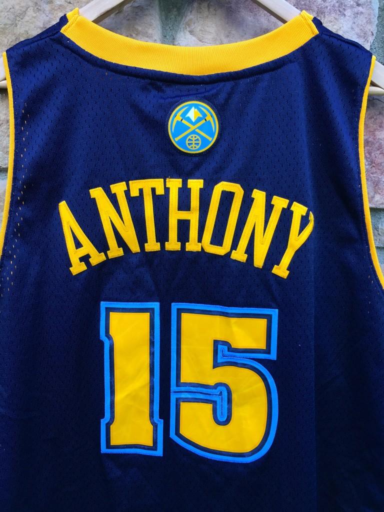 a4c0708ef84 Carmelo anthony denver nuggets adidas jersey XXL. vintage Carmelo Anthony  Denver Nuggets jersey