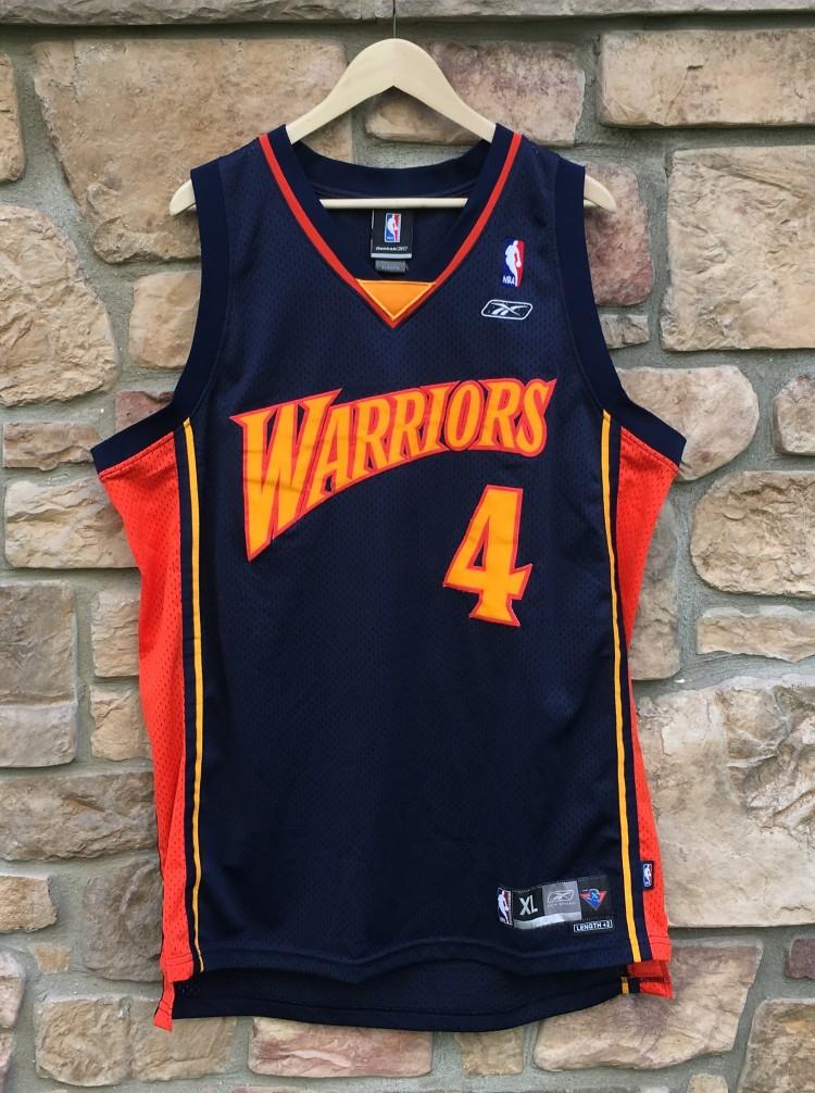 a7ef55cf9706 vintage derek fisher golden state warriors reebok nba swingman jersey size  XL