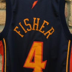 Derek Fisher Golden State Warriors swingman jersey