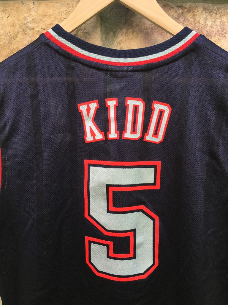 043e3360b swingman jersey vintage jason kidd new jersey nets nba jersey size medium
