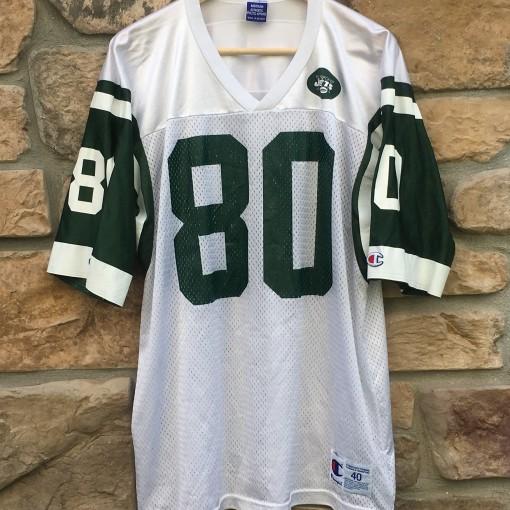 vintage wayne Chrebet New York Jets champion NFL jersey size 40 medium