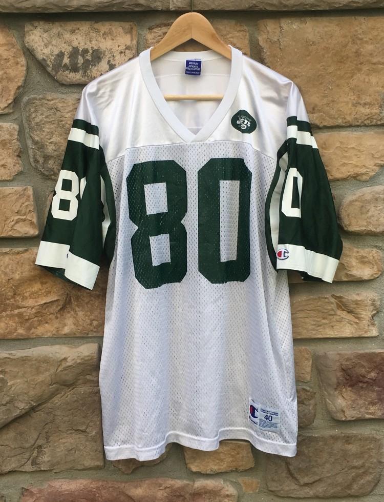 b7233a39 1998 Wayne Chrebet New York Jets Champion NFL Jersey Size 40