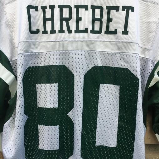 vintage wayne Chrebet New York Jets jersey size medium 40