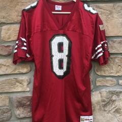 vintage Steve Young San Francisco 49ers Wilson NFL jersey size large
