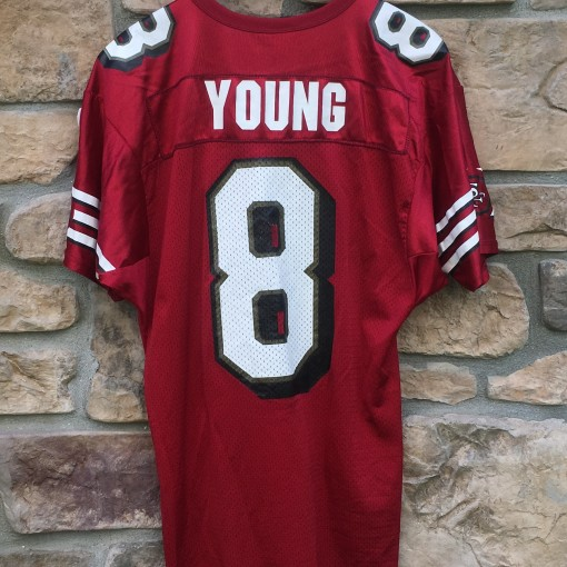 vintage Steve Young San Fransisco 49ers Maroon jersey size large