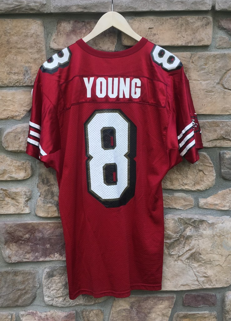 e5891f9a4 1998 Steve Young San Francisco 49ers Wilson NFL Jersey Size Large ...