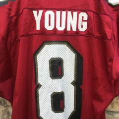 vintage Steve Young Maroon jersey