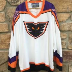 Vintage 90's Philadelphia Phantoms Bauer AHL jersey size XXL